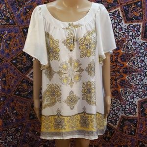 Jaclyn Smith blouse size 2X